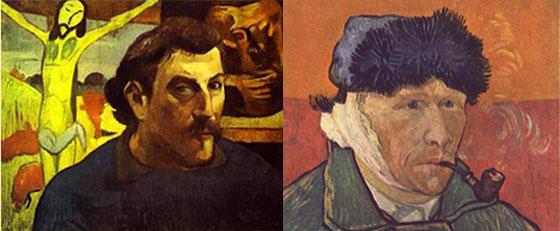 Слева: Поль Гоген