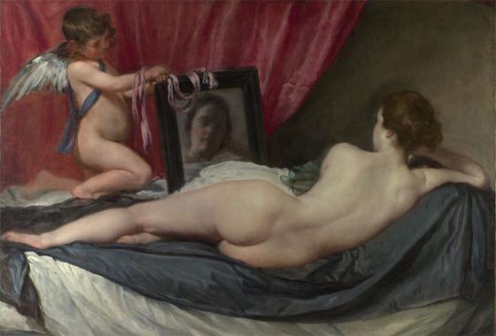 Венера перед зеркалом, Диего Веласкес
