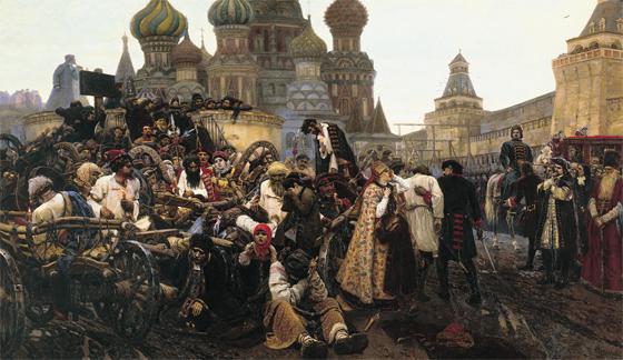 Суриков В.И., Утро стрелецкой казни.