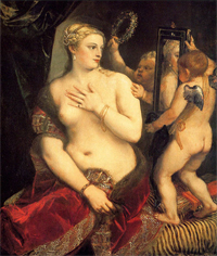 Венера перед зеркалом, Тициан