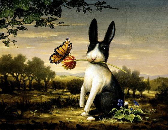 Картины американского художника Кевина Слоана