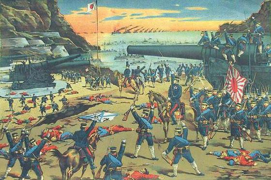 Сдача крепости Порт-Артур