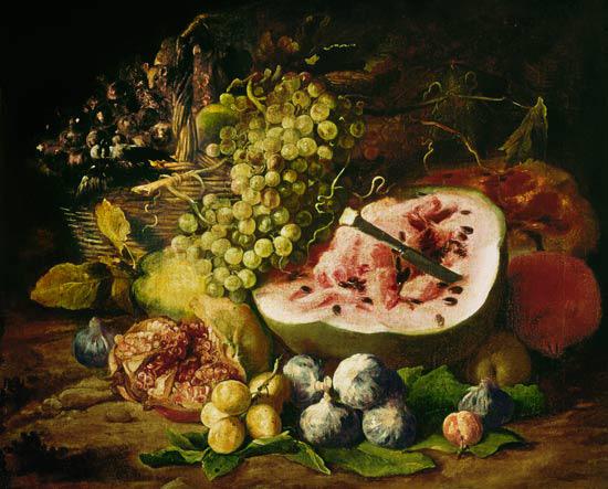 Франс Снейдерс, натюрморт с фруктами