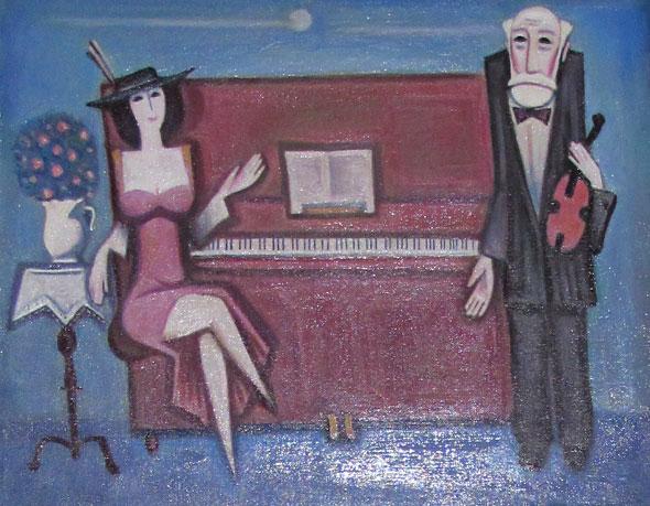 Выставка оренбургских художников