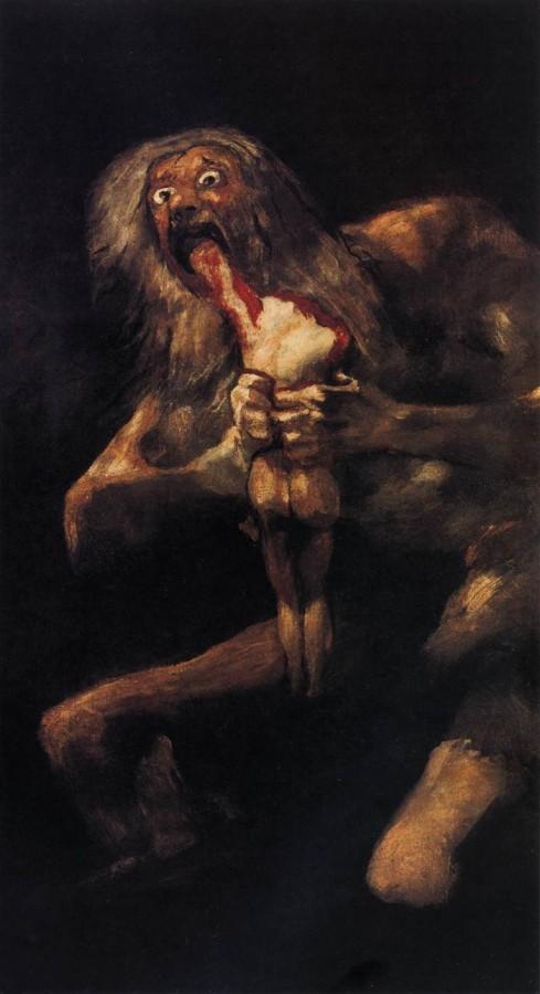 Франсиско Гойя, Сатурн, пожирающий своего сына
