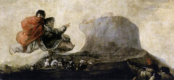 Франсиско Гойя, Мрачные картины