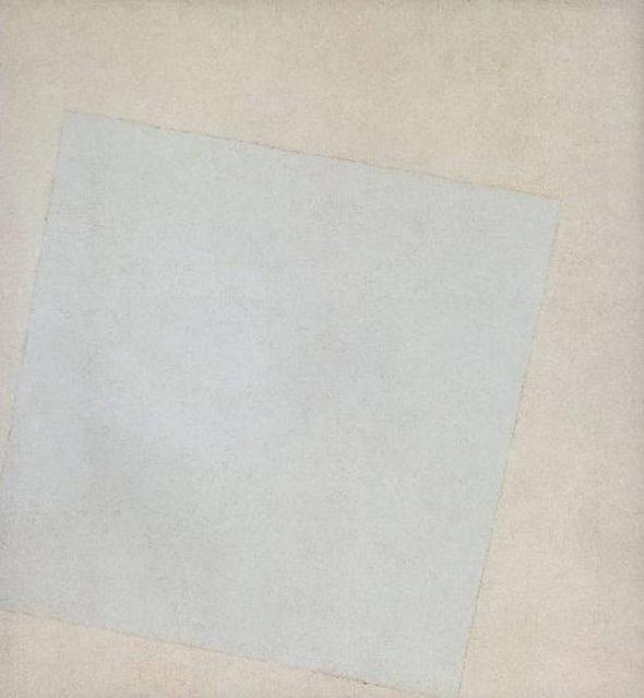 Казимир Малевич, Белое на белом