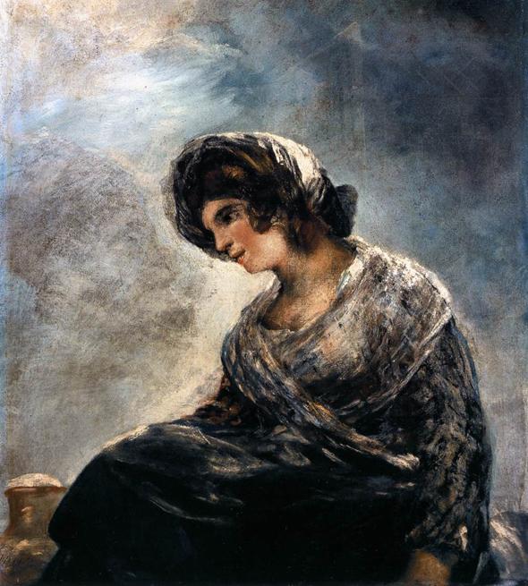 Франсиско Гойя, Молочница из Бордо