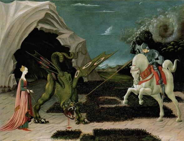 Паоло Уччелло, «Битва Святого Георгия со змеем»