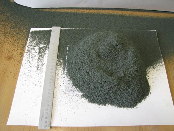 Разложение бихромата аммония, получение окиси хрома