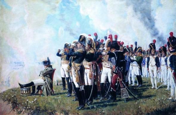 Василий Верещагин, Наполеон I на Бородинских высотах