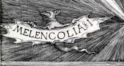 Дюрер Меланхолия, фрагмент картины
