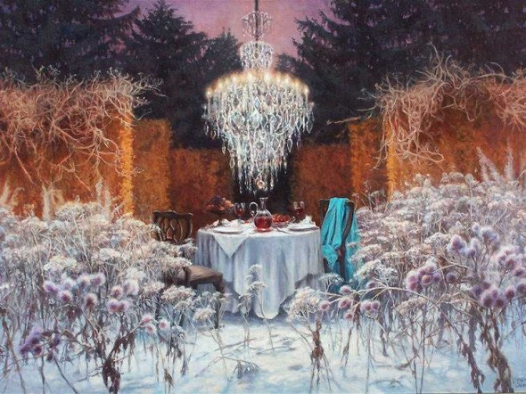 Картины польской художницы Джоанны Сьерко-Филиповски