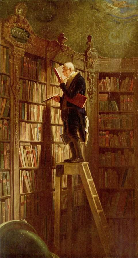 Карл Шпицвег «Книжный червь»