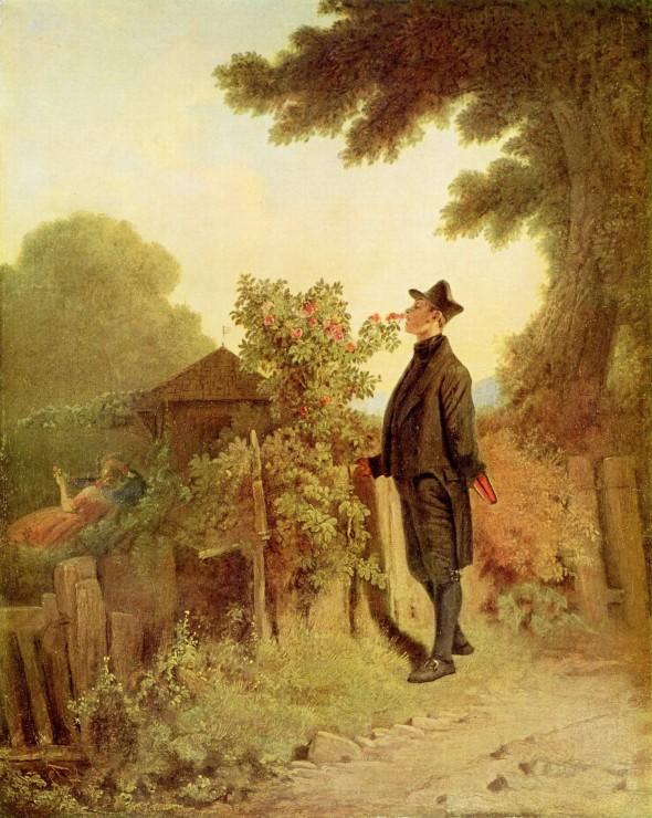 Карл Шпицвег «Запах роз»