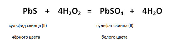 превращение сульфида в сульфат