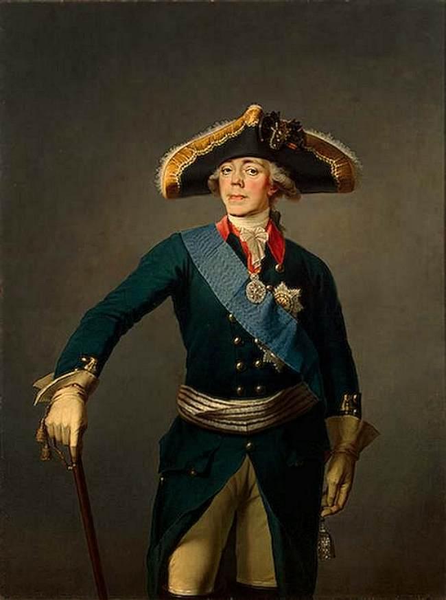 Портрет императора Павла I