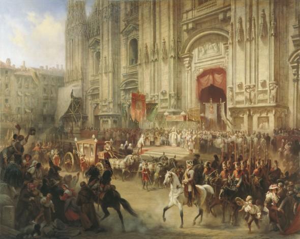 Торжественная встреча А.В. Суворова в Милане в апреле 1799 года