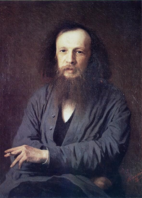 Иван Николаевич Крамской Менделеев
