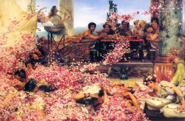 Лоуренс Альма-Тадема (1836 – 1912) «Розы Гелиогабала» (1888)