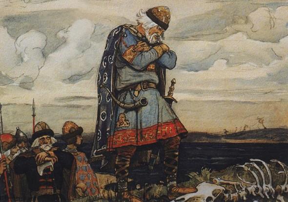 Виктор Васнецов Олег у костей коня