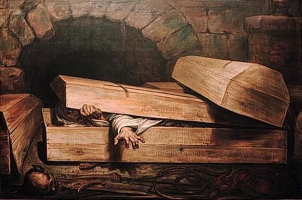 Антуан Вирц Преждевременные похороны