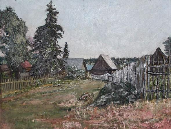 Пленэр в Бузулукском бору