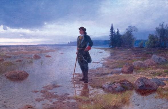 Лев Феликсович Лагорио «На берегу пустынных волн»