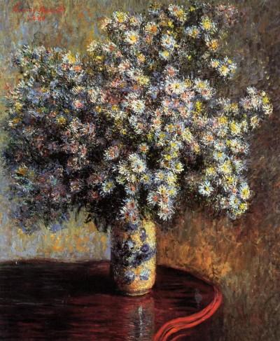 Клод Моне (1840 - 1926) «Астры» (1880)