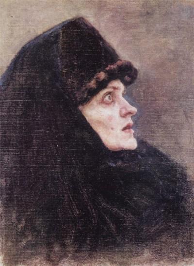 Эскизы к картине Боярыня Морозова