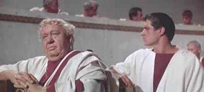 Пурпурный цвет, кадр из фильма Спартак