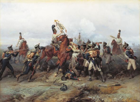 Виллевальде Богдан Павлович, «Подвиг Конного полка в сражении при Аустерлице в 1805 году»
