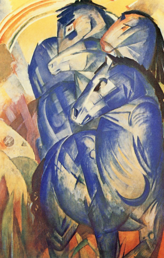 Франц Марк, «Башня из синих лошадей»,