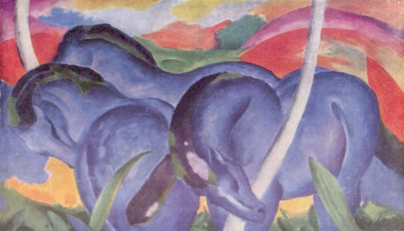Франц Марк, «Синие кони»
