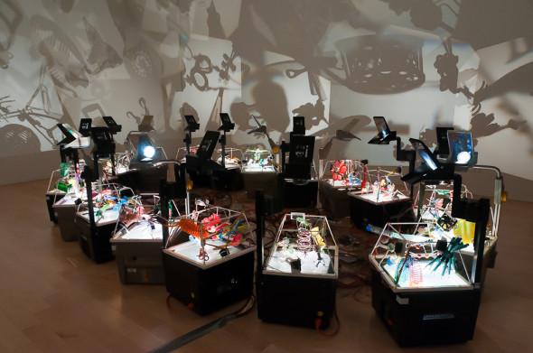 Инсталляция отРальфа Кистлера