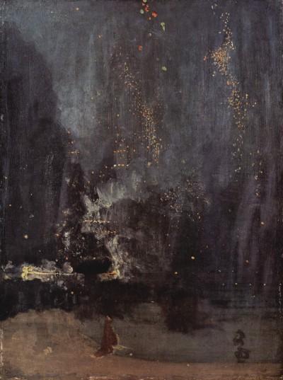 Джеймс Уистлер «Ноктюрн: Падающие огни».