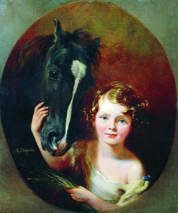 Николай Егорович Сверчков, «Мальчик с лошадью»