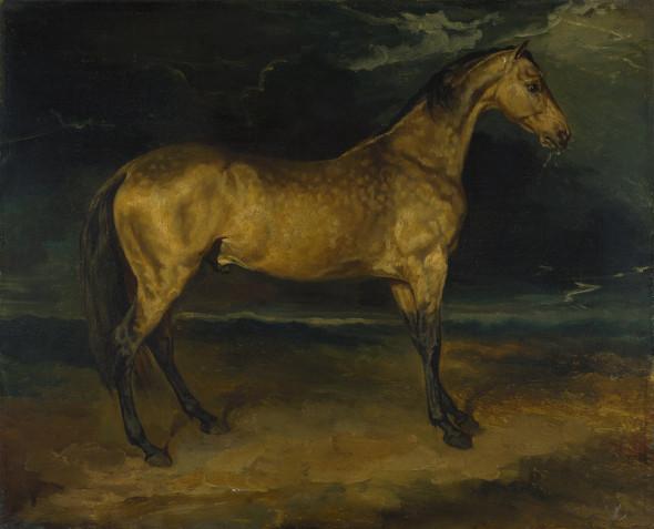 Жан Луи Жерико, «Лошадь, испугавшаяся молнии»